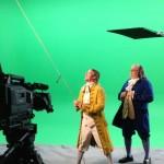 Ben Franklin & son Filming a Documentary! #BenFranklinLookalike #BenFranklinImpersonator