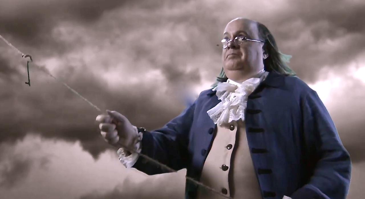Ben Franklin Impersonator