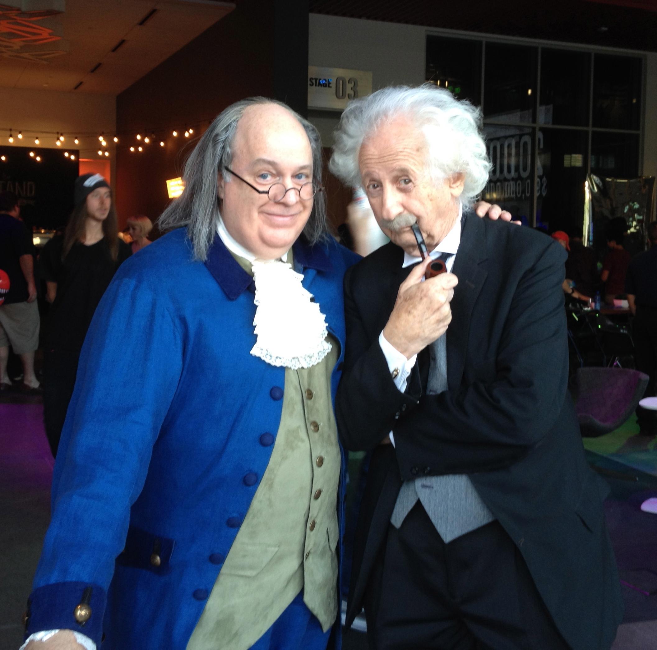 """Ben Franklin & Albert Einstein! """"Genius Loves Company!"""""""