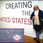 Ben Franklin celebrates Constitution Day! #BenFranklinImpersonator