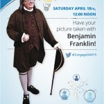 Ben Franklin Impersonator & Lookalike is ideal for all Conferences & Conventions.