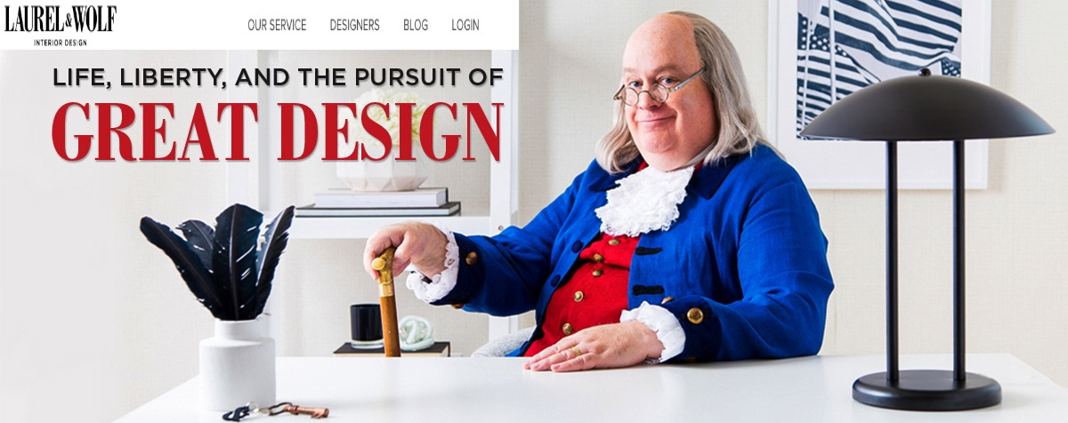 Ben Franklin for Print Advertisement